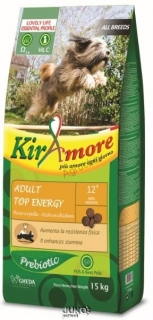 Kiramore adult top energy 15kg